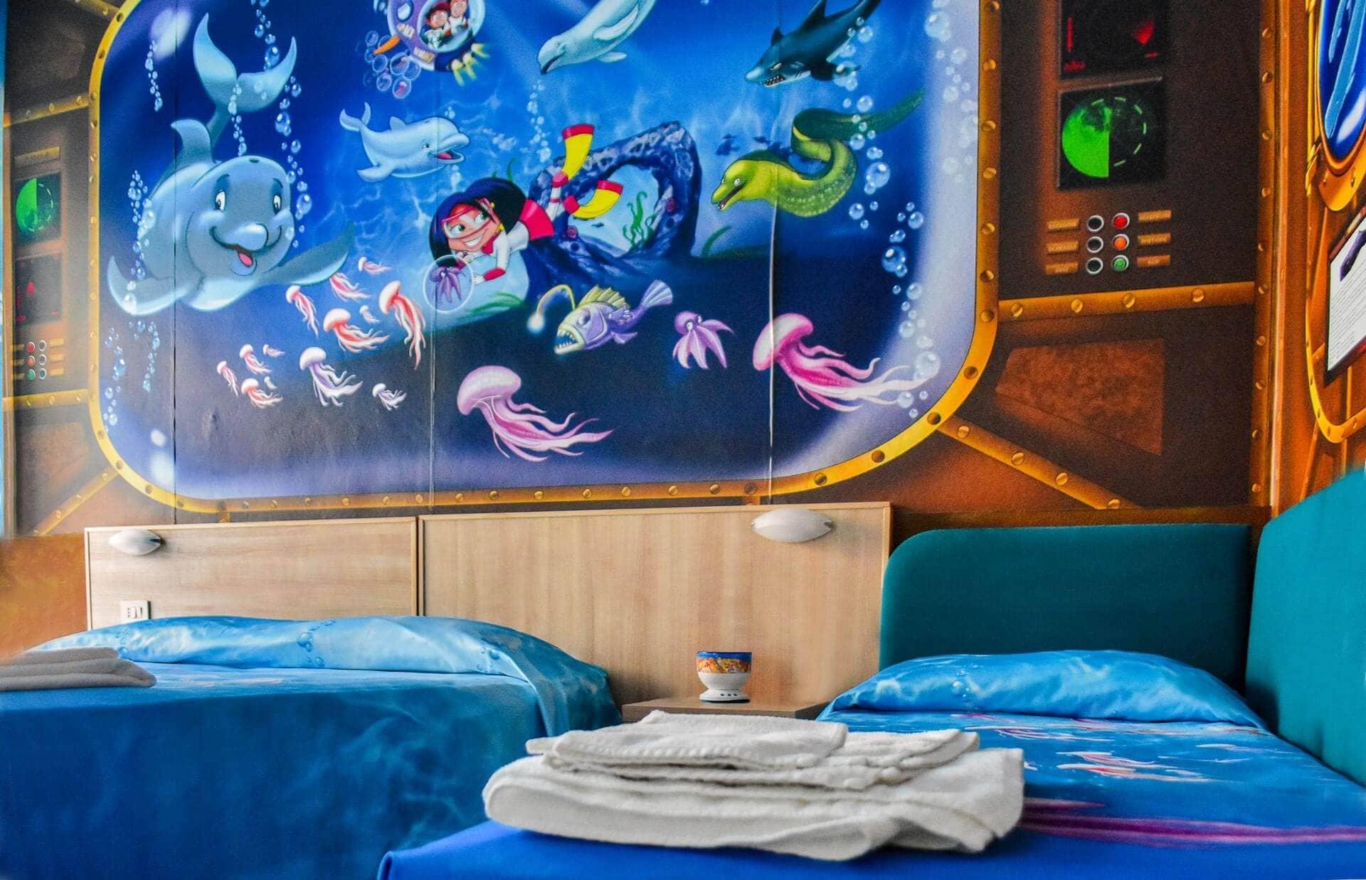 hotel bahamas lido di savio camere per bambini